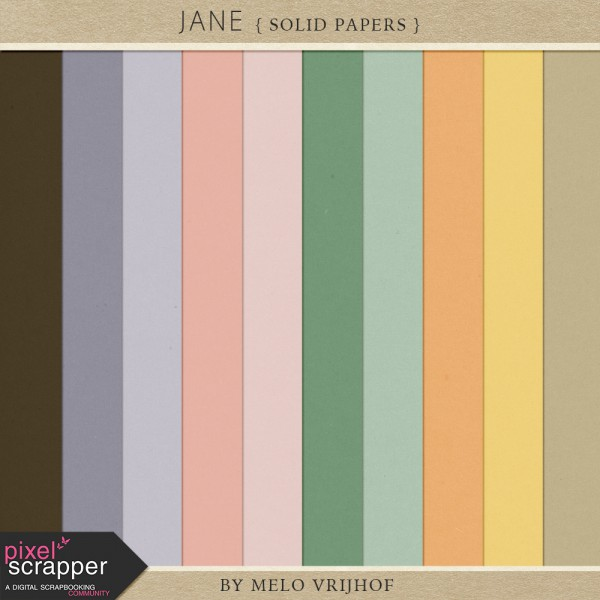 Jane - Solid Papers