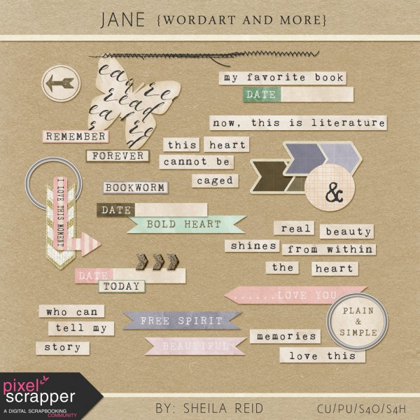 Jane - Wordart And More